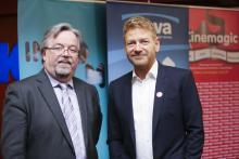 Seamus McAleavey and Kenneth Branagh