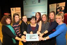 Members of the social prescribing workshop planning group are (from left): Heather Moorehead (NICON), Jessica McGurk, Health and Social Care Board, Fiona Greene, Long Term Conditions Alliance NI, Soo Hun, Health and Social Care Board, Clare Higgins, Royal College of General Practitioners, Sinead Malone, Health and Social Care Board, Joanne Morgan, Community Development and Health Network and GP Dr Grainne Bonnar.