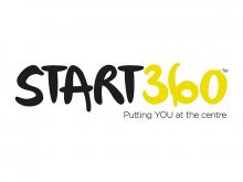 Start360 logo