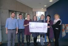 Sunshine Foundation Cheque Presentation